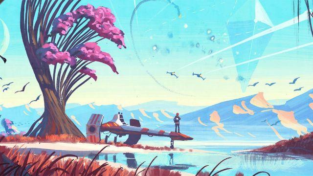 Gli artwork sono una delle poche cose davvero belle di No Man's Sky