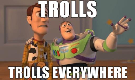 Che mondo sarebbe senza i Troll?