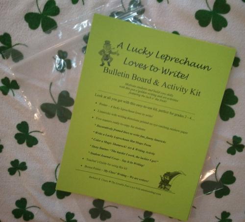 Lucky Leprechaun Bulletin Board Kit Contents
