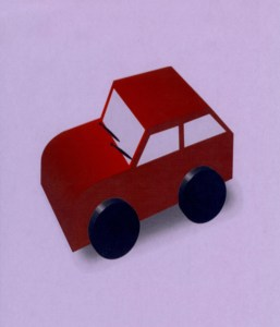 Convert a large toy car or truck into an All-Day Math Mobile to travel around your room with yours or a students' guiding hands.