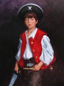 Ben as a Pirate