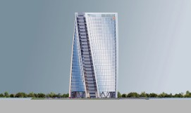 PWC Tower Elevation_West