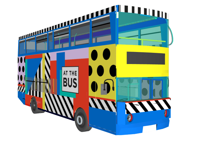 Camille Walala to design our first bus