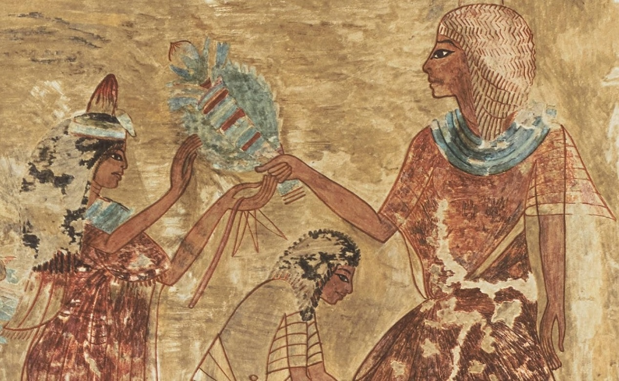 Florists And Flower Arranging In Ancient Egypt