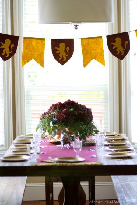 Dollar Store Wedding Table