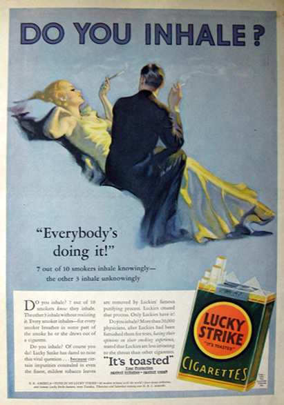 Vintage Cigarette Ads (3/6)
