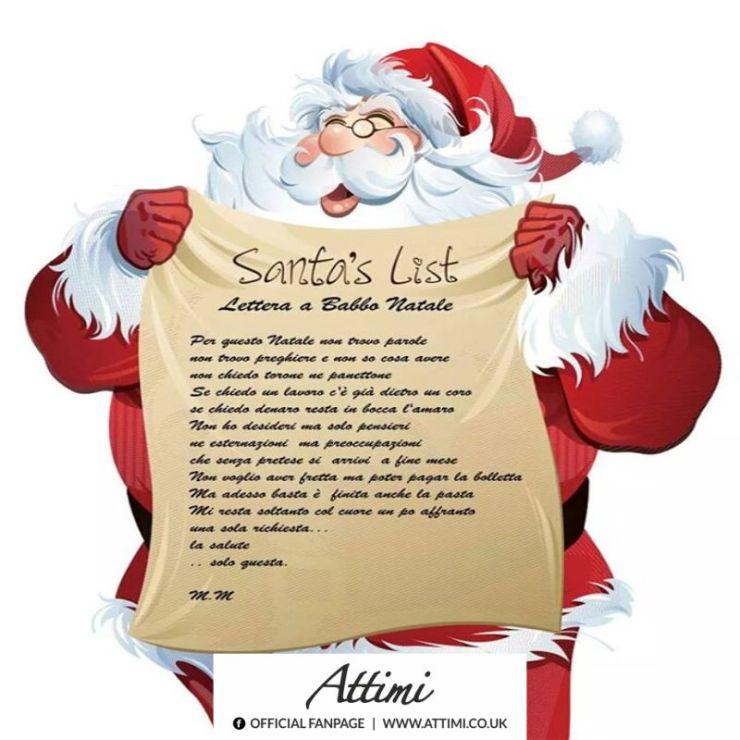 Frasi Per Babbo Natale.Lettera A Babbo Natale Attimi Aforismi E Frasi Celebri
