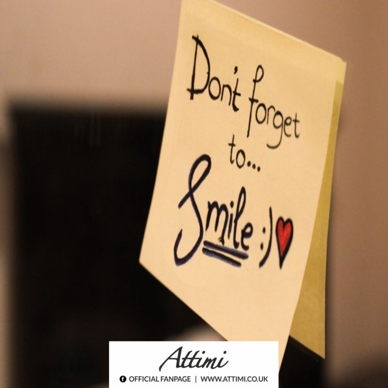 Don&#8217;t foget to&#8230; Smile :)  <3