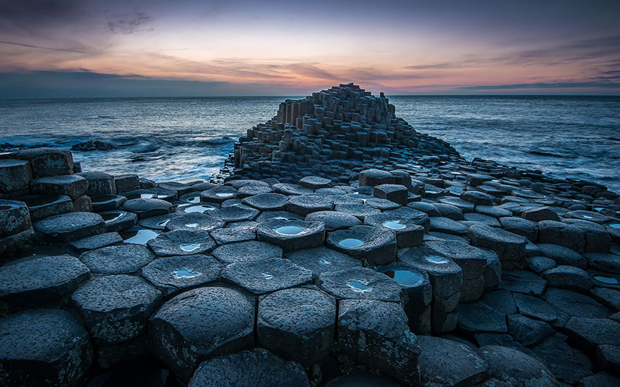 Gigantesche colonne di basalto, Irlanda del Nord
