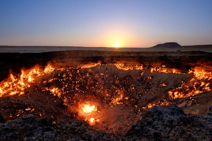 I cancelli per l'inferno, Derweze, Turkmenistan