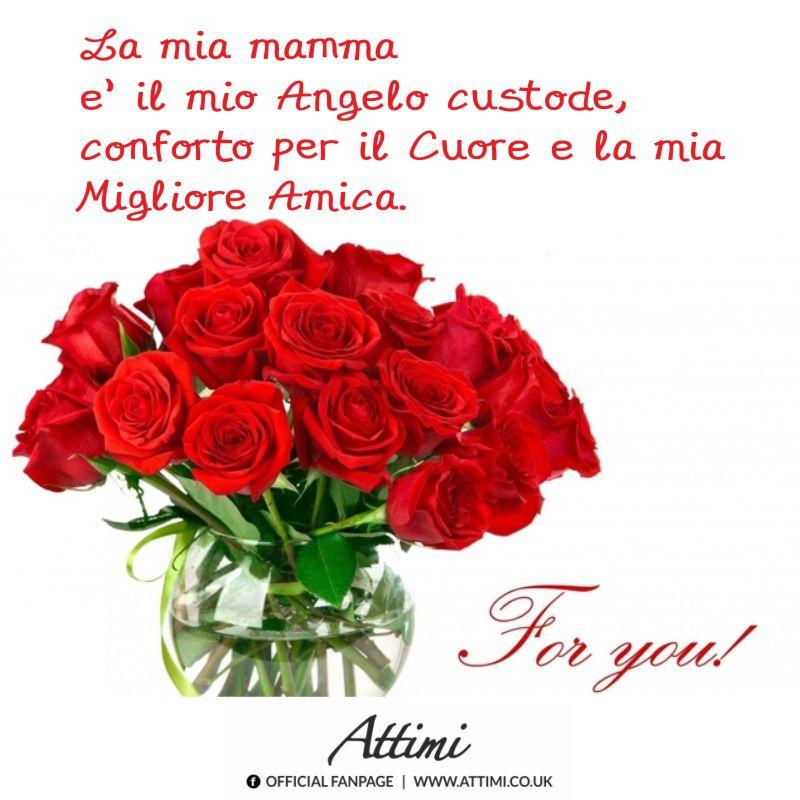 La mia mamma è il mio Angelo custode, conforto per il Cuore e la mia Migliore Amica. For you!