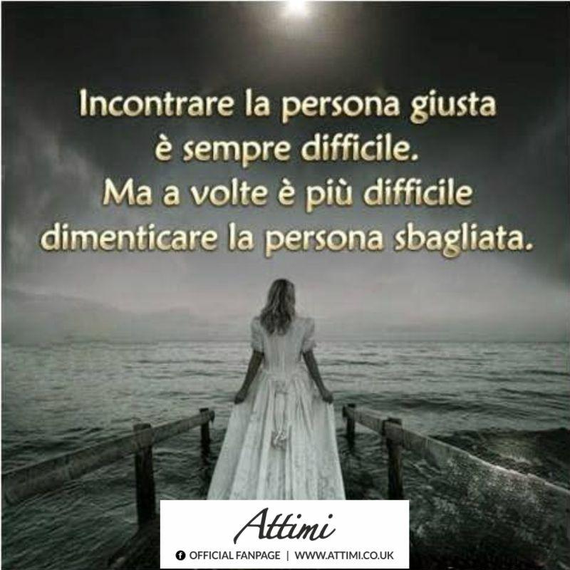 Incontrare la persona giusta è sempre difficile. Ma a volte è più difficile dimenticare la persona sbagliata.