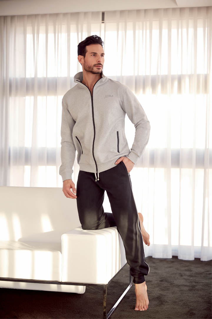 Felpa Full-zip - AT503F