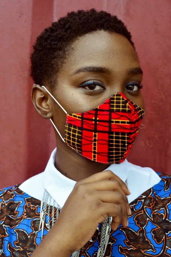 African Print Face Masks | Ankara Facemasks | MARY
