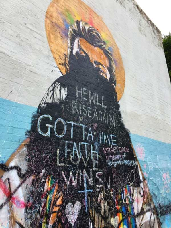 Man who defaced George Michael mural to pay $14,000 ...