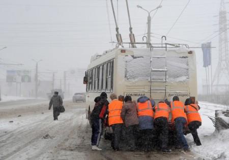 Метель на Урале