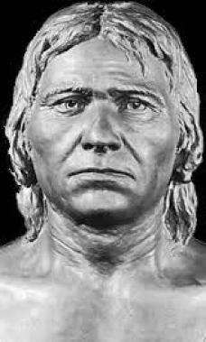 Fig. 4 - Presenta l'aspetto dell'uomo di Cro Magnon.