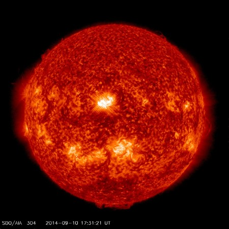 sdo aia 304 x1-6 sep 10 2014 4