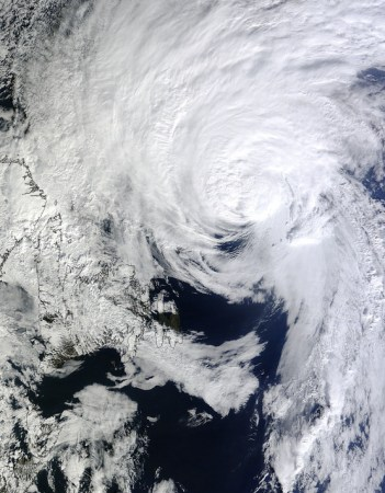 hurricane gonzalo oct 19 2014 near canada