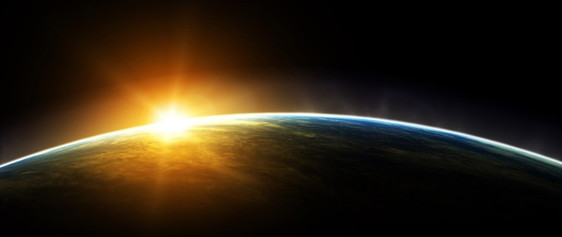 -Terra 3d-and-the-sun-backgrounds-wallpapers
