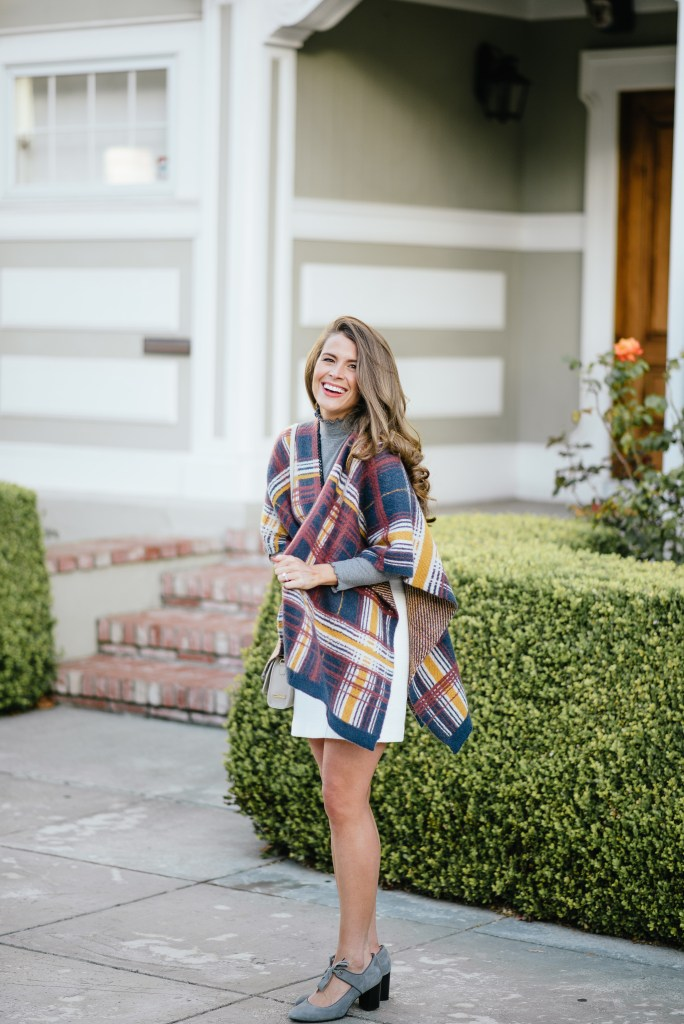 www.attn-to-detail.com, plaid poncho
