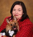 Lynda Hinkle and Petey