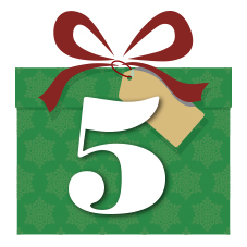 Holiday Gift Friday Five