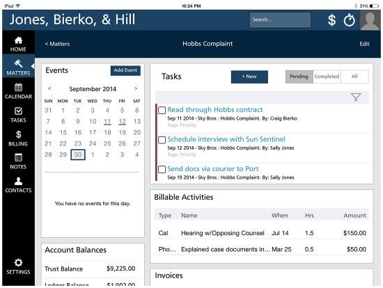 Figure 2 -Rocket Matter iPad App - Tasks