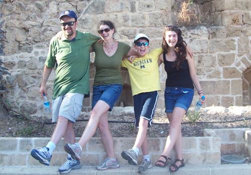 Janine Goodman and Family
