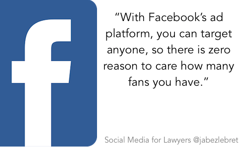 Facebook - SM for lawyers