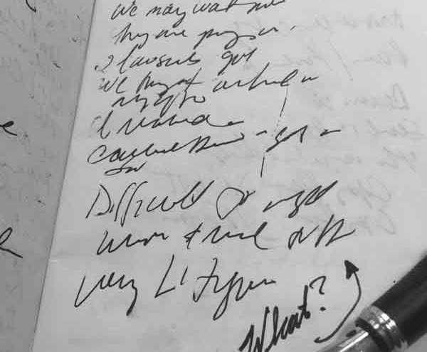 hand writing penmanship spencer palmer method analog attorney bull garlington humor features damn good writing