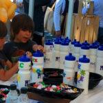 Kids design water bottles