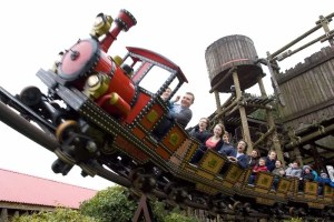 Alton Towers - Runaway Mine Train