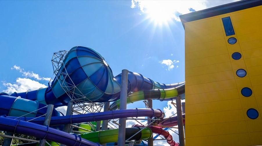 Alpamare Scarborough - Water slides