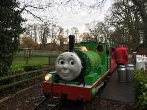 Christmas at Drayton Manor - Ride on Percy