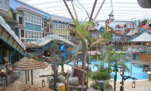 The Master Blaster Water Coaster - Alton Towers Waterpark