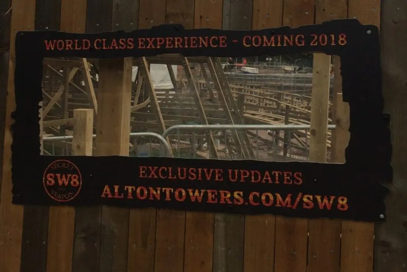Alton Towers Secret Weapons