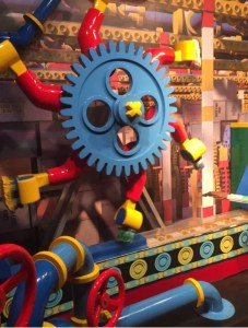 LEGOLAND Discovery Centre Manchester - Factory Tour Machinery