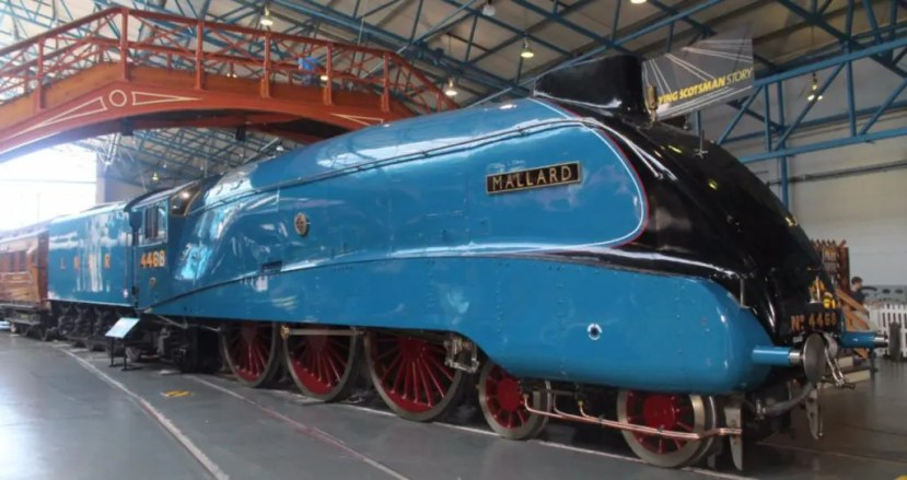 National Railway Museum - The Mallard