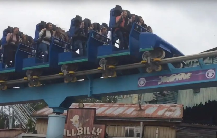 Shockwave Stand-up Roller Coaster - Drayton Manor