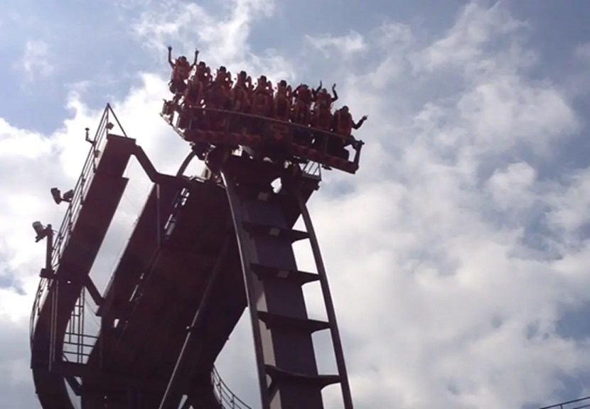 Alton Towers - Oblivion