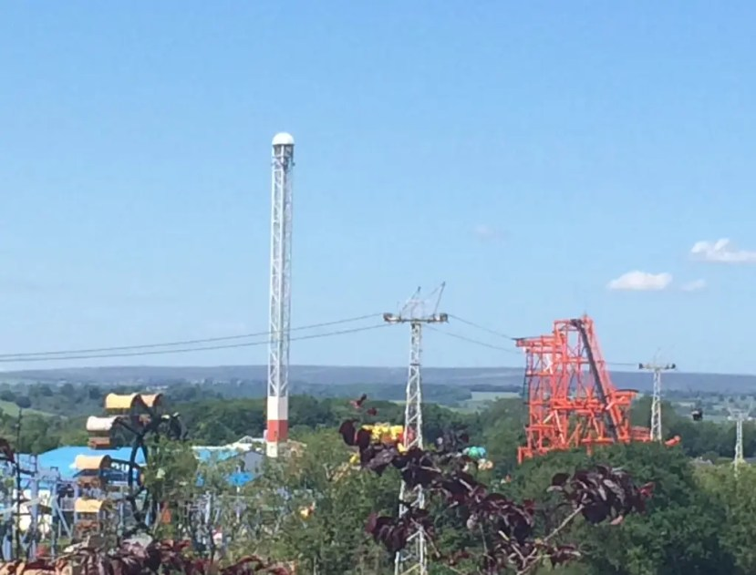 Flamingo Land - Cliff Hanger