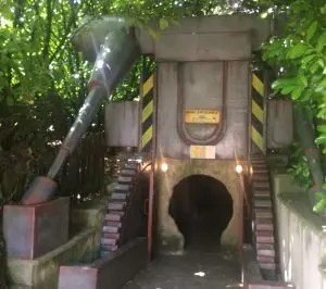 Lightwater Valley Theme Park - Raptor Attack Ride Entrance