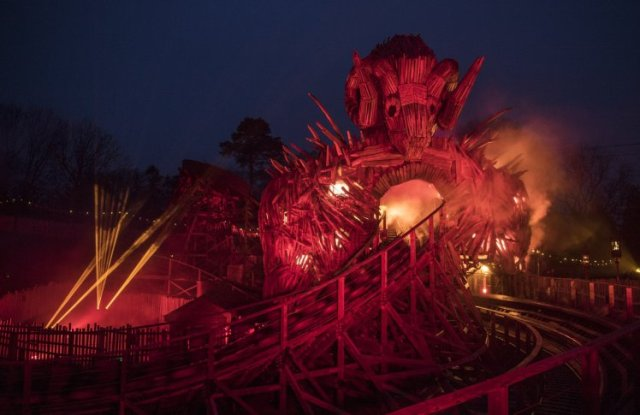 Wicker Man launch at Alton Towers Resort