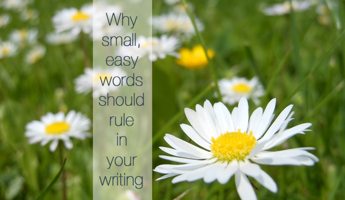 write using small words