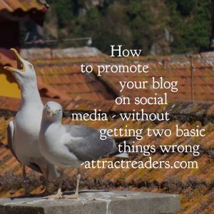 How to promote your blog on social media without getting two