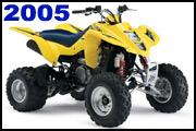 2005 SUZUKI LT-Z400 quad deportivo ATV