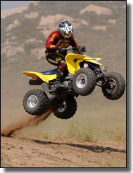 2009 Suzuki LT-Z400 quad deportivo ATV