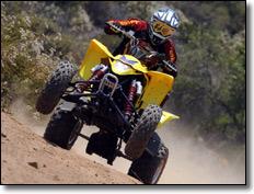 2009 Suzuki LT-Z400 ATV Quad Sport Wheelie
