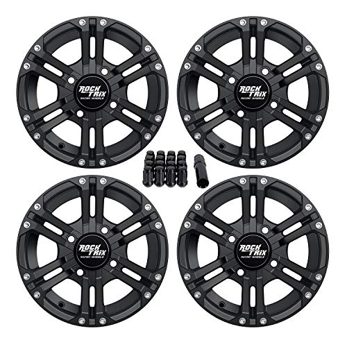4pcs 1.5 4//110 4x110 ATV Wheel Spacers Black for Honda Polaris Kawasaki Yamaha Rhino Grizzly Suzuki